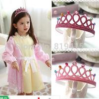20pcs/Lot  New Arrival Frozen Elsa Crown Children Headband Populer Gift for Girls 2014 Kids Costume Dress Accessories 5 COLORS