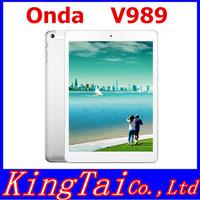 """Octa Core ONDA V989 Tablet PC A80T 9.7"""" Retina 2048*1536 Screen Android 4.4 2GB 32GB Bluetooth 8MP camera"""