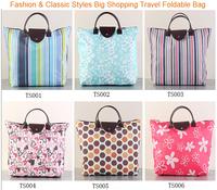2014 New Fashion Foldable Street Shooping Bag Travel Storage Bag High Quality Hand Bag Totes 5pcs/lot Cristmas Gift Freehsipping