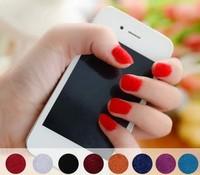 Fashion Beauty star  velvet Plush Nail Polish  10colors available