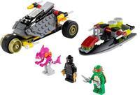 Bela 10208 Teenage Mutant Ninja Turtles Building Blocks sets  Stealth Shell Pursuit Action Figure classic toys  T61