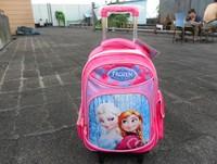 Frozen   Trolley  Schoolbags   Girls  Backpack   kids   Travel bags