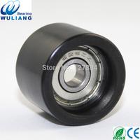 China 626zz  rubber coated wheel 6x25x18mm PU rubber coated wheels