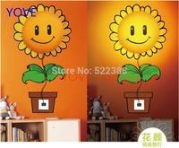3D Wallpaper Wall Lamp Plants Dalmatians Creative Decorative Wall Nightlights Stickers Children's Bedroom Room Bedside Lamp
