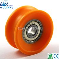 China High quality 606zz u groove window roller 606zz door roller