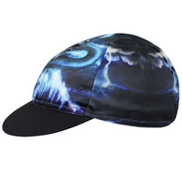 Cycling Bicycle Bike Breathable Sweat Proof Polyester Hat Riding Cap One-Size CC3616