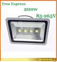 outdoor 200w led floodlight 85-265v led flood light lamp waterproof IP65 warm white cool white garden light