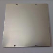 3D printer accessories Ultimaker DIY heated aluminum platform bed aluminum 242 * 242 * 3 mm(China (Mainland))