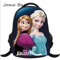 HOT 2014 children kids backpacks for girl,frozen anna elsa children's school bag,cartoon backpack boy school backpack gift z2626