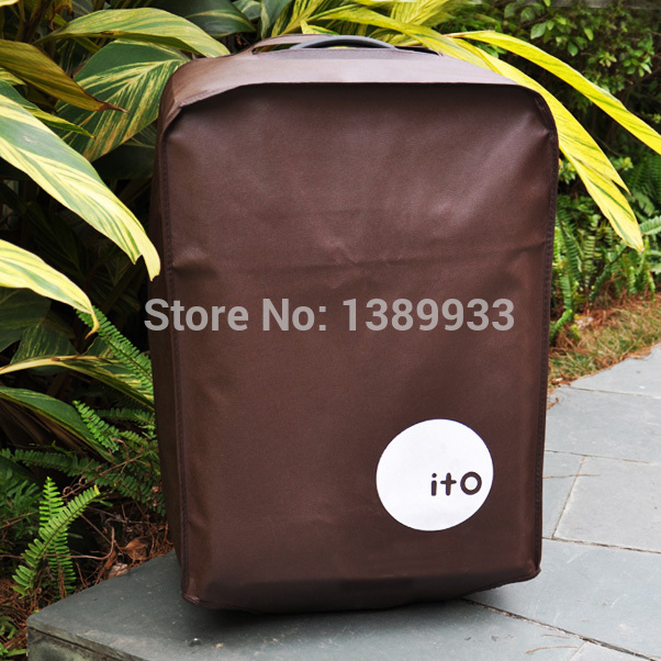 24 inch Trolley Case Travel Luggage Suitcase Bag Thicken Waterproof Dustproof Protection Cover IA285 HDDU Y(China (Mainland))