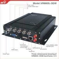 4CH Full D1 3G WIFI GPS H.264 CCTV Car DVR.VR8800-3GW
