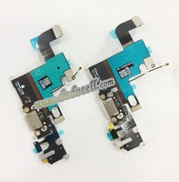 10pcs/lot For iPhone 6 6G Dock Connector Charging Port flex cable 4.7 Inch Black ,Grey & white color free ship