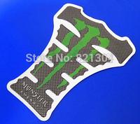 120pcsMotorcycle MONSTER Carbon Fiber Tank Pad Decal Protector Sticker For HONDA SUZUKI BMW KAWASAKI DERBI BENELI APRILIA YAMAHA