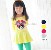 LZBB1407293 Children's clothing  factory direct wholesale 2014 models Korean girls long-sleeved dress,girls autumn clothes