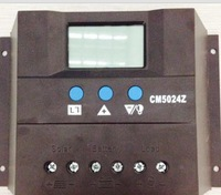 FREE SHIPPING NEW arrival hot sales Solar Charge Controller Regulator 12v/24V 50A LCD display for solar system