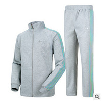 2014 new cotton knit leisure suits men sport ball can not afford E0337 #