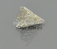 20pcs/lot Fashion Beads DIY Jewelry making Accessories Petunias Shape 3 Colors Good Quality 10229 3F