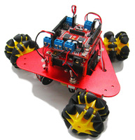 Scamper kit educational robot accesories chassis include controller