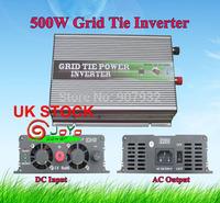 500w Grid Tie Power Inverter(500 watt, 28-52V DC input, 220V AC output, high quality, free shipping) UK STOCK