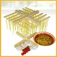Brand New Deluxe Household Noodle Drying Rack Pine Italian Pasta Drying Rack Spaghetti Tools 338*338*307mm Free Shipping