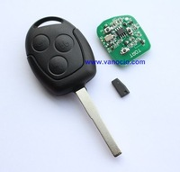 for Ford Focus 3 button remote Key control 433mhz with 4D ID63 chip