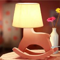 1Piece Wooden Horse Night Lamp,Creative Desk Lamp,Taste Life Wood Horse Night Light,Free Shipping