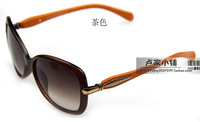 2014 sunglasses women's anti-uv sunglasses star outdoor sunglasses