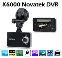 "Hot Selling K6000 1280x720P Car DVR camera 2.4"" LCD Dashboard Vehicle Camera Video Recorder (CDC-05)"
