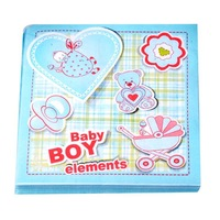 Baby boy&girl nusery design  paper tissues 20pcs per bag printed paper napkins for family use