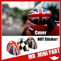2014 Genuine Plastic Auto Side Mirror Union Jack Fit For bmw MINI Cooper Cooper S R56-R61 MINI Countryman Clubman Level A