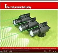 Tactical LED Flashlight Combo Green Laser Sight BOB-JGSD-G Tactical Green Laser Sight and LED for Picatinny Rail
