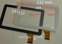 9inch DH-0922A1-PG-FPC068 FPC068 DH-0922A1 capacitive touch screen touchscreen panel Glass For Allwinner tablet pc