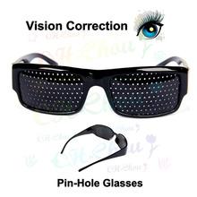 1Lot Unisex Vision Correction Eyesight Improvement Vision Care Exercise Eyewear Pinhole Glasses Eye Exercise To See More Clearly
