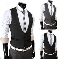 2014 Men New Hot Sale Fashion all match vest M/L/XL/XXL Wholesale