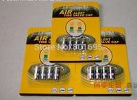 4pcs wheels car wireless tire pressure monitoring system TPMS car valve cap pressure indicator retail package 2.4bar 36psi