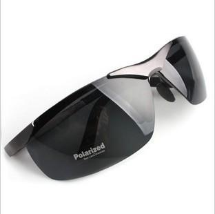 óculos polarizados frame da liga oculos homens marca de sol com uma caixa útil óculos óculos de sol imitação compra em massa de porcelana(China (Mainland))