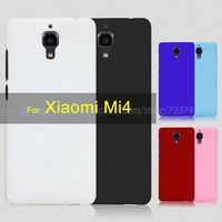 Colorful Matte Hard Plastic Back Cover for Xiaomi Mi4 M4 Protective Cell Phone Cases for Mi4 High Quality