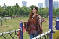 M813 dual long scarf shawl new fall fashion female thick plaid cape shawl scarf air conditioning