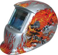 White Skull Solar auto darkening TIG MIG MMA electric welding mask/helmet/welder cap/lens for welding machine OR plasma cutter