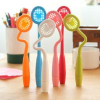 [Uoopai] Special Offer Ballpoint Pen Cute Little Racket Ballpoint Pen Creative Pen Korea School Supplies Stationery
