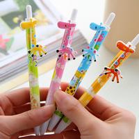 [Uoopai] Special Offer Ballpoint Pen Cute Little Giraffe Ballpoint Pen Creative Pen Korea School Supplies Stationery