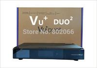 2014 Hot VU+ Duo 2 2X DVB-S2 Tuner Full HD 1080P Twin Linux Receiver PVR ready Vu Plus Duo2 Sat