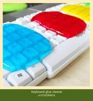 Free Shipping New Car Magic Multi-Purpose Cleaning Glue Clean Gum Super Keyboard Cleaner Gel 10pcs/lot