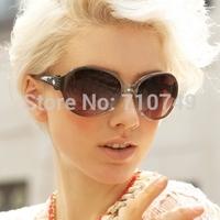 2014 new fashion women's sunglasses,Free shipping fashion UV400 quality PC eyewear,retro style glasses for women 2201
