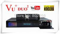 Vu Duo2 Single/ Double Twin Tuner DVB-S2 or DVB-T/C Vu Duo 2 Linux OS 2*1300 Mhz CPU Vu+Duo 2