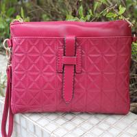 Women's handbag small bag 2014 fashion envelope one shoulder cross-body handbag genuine leather bag women's