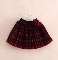 Free shipping new 2014 children skirts girls skirts autumn and winter skirts female waist spring kids skirts gift