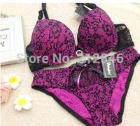 #1033 Sexy Bra 34/75B 36/80B 38/85B Lace Mesh Underwire Bras Push Up Intimates Women Panty and Bra Set Free Shipping