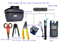 FTTH Assembly Optical Fiber Termination Tool KIT AND Opticalfiber Cleaver FC 6s