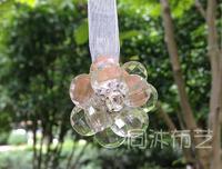Curtain accessories buckle straps flower factory sale magnetic curtain magnet clip (Li River Mirror)
